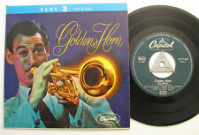"""7"""" Ray Anthony - Golden Horn / Part 3 - Trumpet Sorrento Holiday For Strings"""