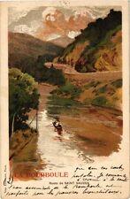 CPA   La Bouboule -Route de Saint Sauves  (244346)