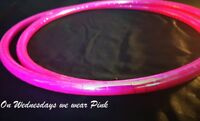 Polypro Travel Hula Hoop, 5/8 or 3/4.  Colour Change Holographic. Custom Made