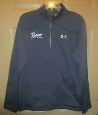 Under Armour Ranger Boats Mens Blue cold Gear 1/4 Zip Pullover long sleeve Sz M