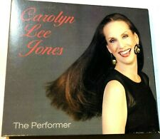 The Performer by Carolyn Lee Jones (CD 2013) jazz vocal Signed Autographed
