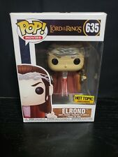 Funko Pop! Movies Lord Of The Rings Elrond #635 Hot Topic Exclusive