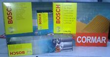 KIT 5 FILTRI TAGLIANDO SERVICE BOSCH AUDI A6 2.0 TDI 07/04 > + OLIO CASTROL EDGE