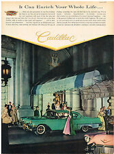 Vintage 1957 Magazine Ad For Cadillac Luxury Performance Economy In All Ways