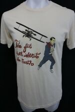 THE FIT SHALL INHERIT THE EARTH North By Northwest CAREY GRANT T Shirt M