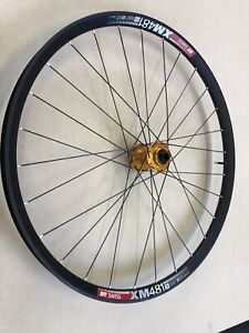 Hope Pro4 Boost Front On 27.5 DT Swiss XM481 30mm Wide Tubeless rim Inc valve