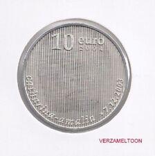 """NEDERLAND 10 EURO 2004: """"GEBOORTEMUNT TIENTJE"""" UNC"""