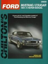 Ford Mustang and Cougar, 1964-73 Chilton Total Car Care Series Manuals