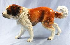 Großer Bernhardiner porzellan hund Figur porzellanfigur Goebel alt