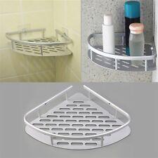 Aluminum Shower Wall Mount Corner Shelf Holder Bathroom Storage Organizer SM