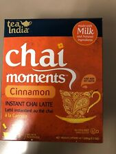 Tea India Chai Moments Instant Chai Latte - Cinnamon Free SHIPPING FROM USA!