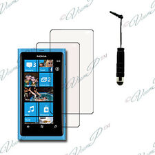 2x Films protection protecteur écran transparent mini stylet Nokia Lumia 800