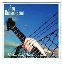(GZ489) The Roy Hudson Band, Nature Of The Boogie Beast - 2003 CD