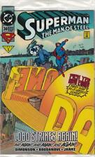 Superman the Man of Steel 30:  DC Comics: 1993
