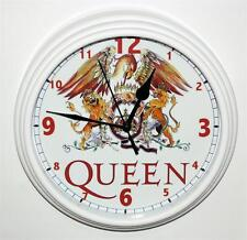 """QUEEN CLOCK-NEW-8/12"""" IN DIAMETER-BATTERY OPERATED-DISCOUNT PRICING"""