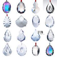 Crystal Glass Large Prisms Chandelier Parts Suncatcher Rainbow Maker Ornament