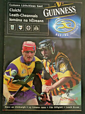 1999 GAA KILKENNY v CLARE All Ireland Hurling S-Final Programme