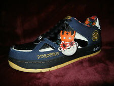 Greedy Genius #TheRootOfAllEvil denim shoes size 8.5 #YOROPIKO sneakers #JAPAN