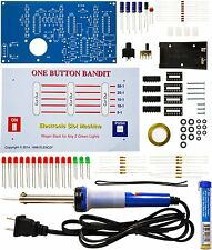 Elenco K-34SLD One Button Bandit Soldering Kit with Iron and Solder