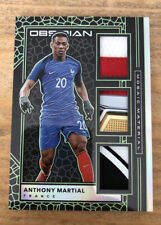2019-20 OBSIDIAN ANTHONY MARTIAL MOSAIC MATERIAL /25 SICK PATCHES FRANCE MAN. U
