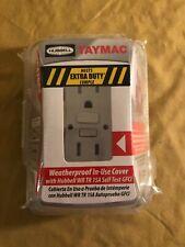 "TayMac MG420CS Rectangle Weatherproof Cover, 4.18"" x 5.90"", Thermoplastic"