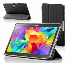 Leather Black Folding  Case Cover for Samsung Galaxy Tab S 8.4