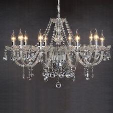 Kristall Kronleuchter Deckenleuchte Lüster Leuchte 10-Arm Wohnzimmer Deckenlampe