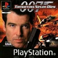 007 Tomorrow Never Dies Playstation Game PS1 Used Complete