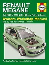 Haynes Car Workshop Repair Manual Renault Megane (02 - 08)