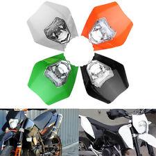 TKSPEED Motorcycle Dirt Bike Motocross Supermoto Universal Headlight Fairing