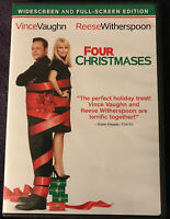 Four Christmases (DVD, 2009) Widescreen Full Reese Witherspoon Vince Vaughn