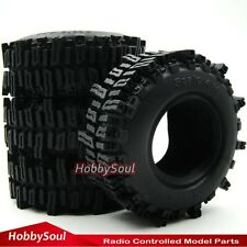 "4pcs RC 1/10 1.9 Mud Slingers Crawler Tires Tyre 93mm Fit 1.9"" Beadlock Rims"