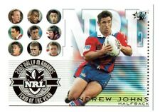 2003 NRL 2002 DALLY M AWARDS:TEAM OF THE YEAR ANDREW JOHNS (HALFBACK)