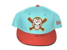 MAX MOROFF GAME WORN COLUMBUS CLIPPERS DAY OF THE DEAD NEW ERA 59FIFTY HAT *METS