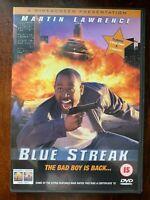 Bleu Streak DVD 1999 Cop Comédie Film Avec Martin