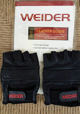 Weider Small Leather Gloves WBLGSY05 Super Fast shipping