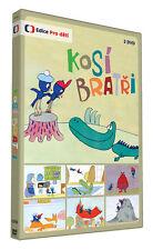 Kosi bratri 2DVD Czech cartoon fairy tale 1980