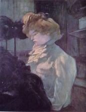 The Modiste (MINI PRINT) By Henri Toulouse-Lautrec