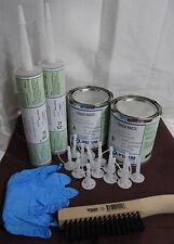 Foundation Crack Repair Kit DIY Urethane Epoxy Injection 16'+ Fast Setting 2 QT