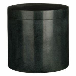 Cotton Jar, Marble, Dark Grey