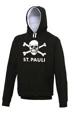 FC St. Pauli Ultras,Hooligans Retro Football Hoodie.Germany Bundesliga.Left Wing