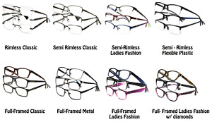 Lot of 3 Designer Optics Foster Grant Reading Glasses NEW w Soft Case U PICK