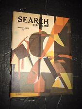 Search Magazine #102~1972  ufonauts astrology UFO's paranormal Occult