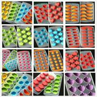 1 PC Silicone Ice Cube Jelly Chocolate Fruit Cake DIY Pudding Mould Mold Tray