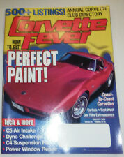 Corvette Fever Magazine How To Get Perfect Paint January 2000 022715r