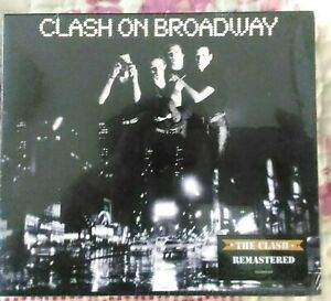 3 cd The Clash ‎Clash On Broadway remastered 5099749745322