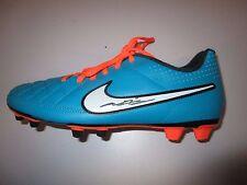 John Terry (Chelsea FC / Aston Villa FC) signed Nike Football Boot -Orange/green
