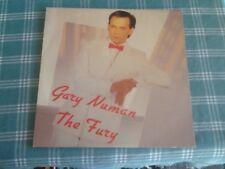 GARY NUMAN RECORD LP  THE FURY  POWDERWORKS