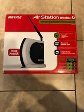 Buffalo Airstation Wireless-G High Power Router & Access Point WHR-HP-G54