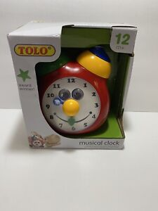 Tolo Toys Tick Tock Musical Clock Model: T89225, Toys & Games for Kids - NEW